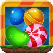 糖果爆破突击疯狂流行匹配3益智糖果赢免费游戏的孩子和儿童