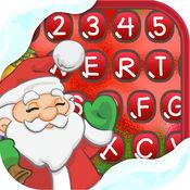 圣诞 键盘 美丽 鍵盤 设计 1