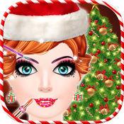 圣诞晚会发廊和温泉:发型游戏 1