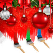 高清聖誕背景和壁纸