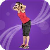 美女背部锻炼 1