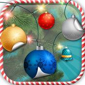 圣诞树 装饰 和 贴 饰品 自由 照片 工作室 编辑 1