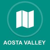 奥斯塔山谷,意大利 : 离线GPS导航 1