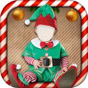 圣诞服饰的孩子