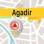 阿加迪尔 离线地图导航和指南