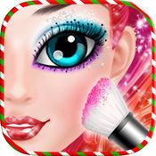 圣诞节时尚女孩化妆:时尚玩偶比赛