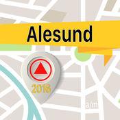 Alesund 离线地图导航和指南