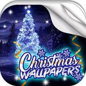圣诞 壁纸 - 冬季 背景 年 和 美丽 锁