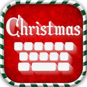 圣诞 键盘 主题 - 最好的 背景, 新 表情符号 2