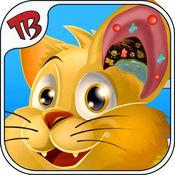 猫耳手术模拟器 - 我的小猫咪虚拟动物耳手术为孩子和女孩