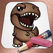 绘制侏罗纪世界恐龙版