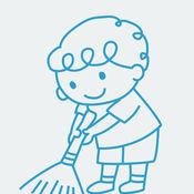 家务小帮手.-鼓励孩子做家务,锻炼动手能力