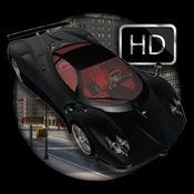 黑色运动停车场 3D
