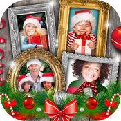 圣诞 照片 拼贴 - 画框 装饰 和 最好 编辑 相机 免费 下载