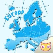 拼拼欧洲地图
