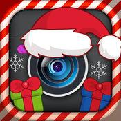 圣诞照片蒙太奇