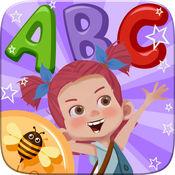Abc 字母拼读着色书-英语词汇为学龄前的孩子们的游戏 1