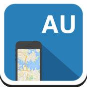 澳大利亚 离线地图,指南,天气,酒店。免费导航。GPS