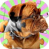 狗拼图益智游戏