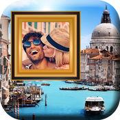 城市 景观 相框 - 流行 市区 全景 和 自拍 蒙太奇 图片 编辑器 手机 软件