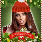圣诞 照片编辑器 - 像框 贴纸