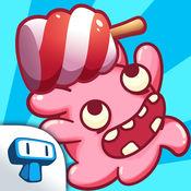 Candy Minion - 食品吞噬的唱首歌游戏