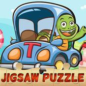 汽车和卡车拼图幼儿免费