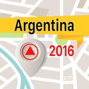 阿根廷 离线地图导航和指南 1