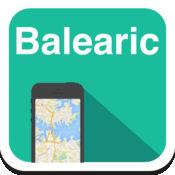 巴利阿里群岛(马略卡岛,伊比沙岛,福门特拉岛) 离线地图,指南,天气,酒店。免费导航。GPS