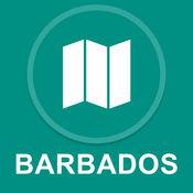 巴巴多斯 : 离线GPS导航