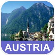 奥地利 离线地图 - PLACE STARS