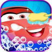洗车沙龙 - 疯狂的自动洗车和清洗水疗游戏