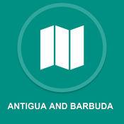 安提瓜和巴布达 : 离线GPS导航