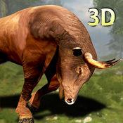 公牛模拟器 - 真3D骑牛模拟游戏 1