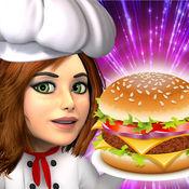 汉堡破折号 - (顶部免费汉堡披萨小餐馆游戏) 1