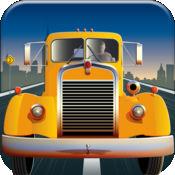 疯狂的怪物卡车司机 - 大规模公路高速赛车