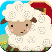 稗农场动物的叫声益智游戏为幼儿免费