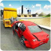 汽车拖车3D - 重型牵引起重机模拟器