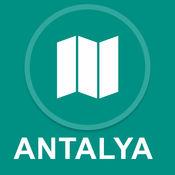 土耳其安塔利亚 : 离线GPS导航