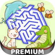 动物3D迷宫游戏 ...