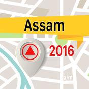 阿萨姆邦 离线地图导航和指南 1