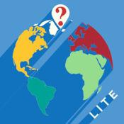 世界地图:一个问答游戏。自由