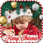 圣诞 装饰品 对于 图片 - 最好的 节日 贴纸 相机 影楼 编辑器