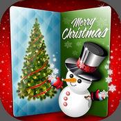 圣诞贺卡创造者 – 发送最好的祝愿对于新年同可爱的电子贺卡