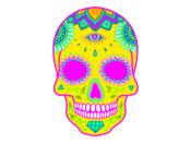 Psy抽象集 - 荧光的美丽的贴纸