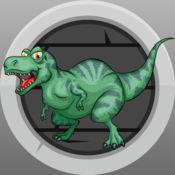 恐龙匹配记住益智游戏的孩子