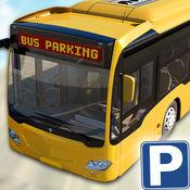 公交停车模拟器 - 驱动器的实公共汽车和高效公园 1