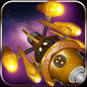 蒸汽朋克升空 !免费 — — 复古火箭跳到空间 ( Steampunk B