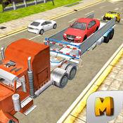 汽车运输卡车模...