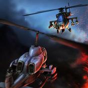 直升機空中打擊 - #1架軍用直升機格鬥和射擊遊戲免費